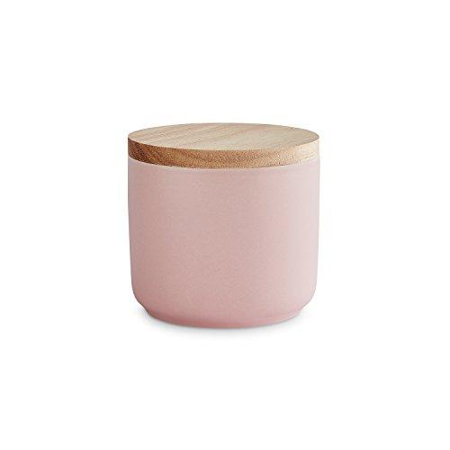 Keramik Vorratsdosen mit Holzdeckel Sweet Scandi | Luftdichter Kautschukholz-Deckel | Aufbewahrungsdosen | Frischhaltedosen