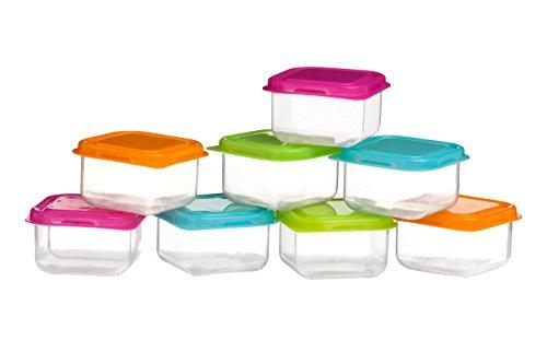 Premier Housewares Mini-Vorratsbehälter, 8 Stück, mehrfarbig