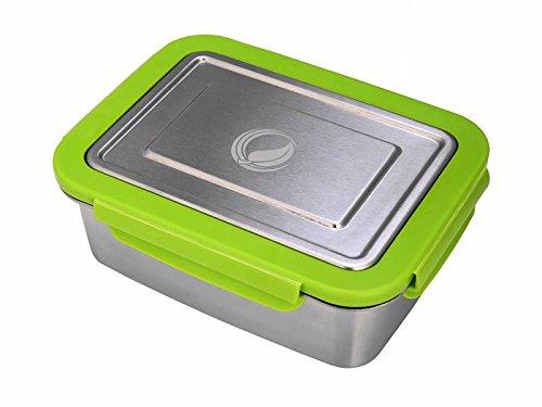 ECOtanka Lunchbox, 2000ml, Edelstahl-Brotdose, Bento-Box