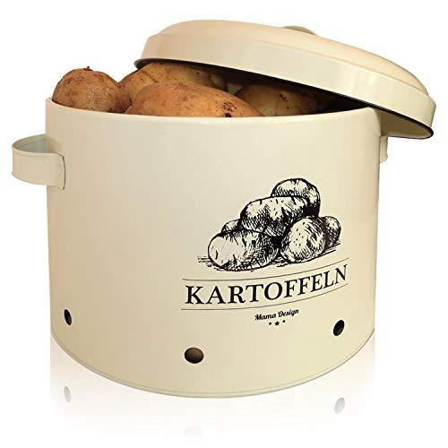 Mama Design Kartoffeltopf - Vintage Vorratdose für Kartoffeln