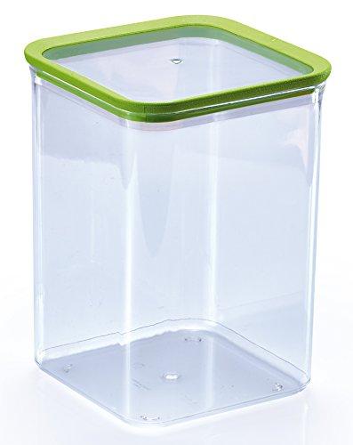 Mondex pls2588–00, transparent Kunststoff luftdicht Aufbewahrungsbox 16x 16x 22,5cm 4.2Liter