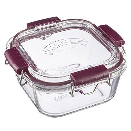 Kilner 0,75Liter Chill Cook Carry stapelbar Glas Frischhaltedose, transparent