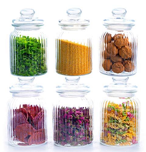 Häufig Vorratsbehälter aus Glas anschauen | Aufbewahrungsgläser online kaufen SI57