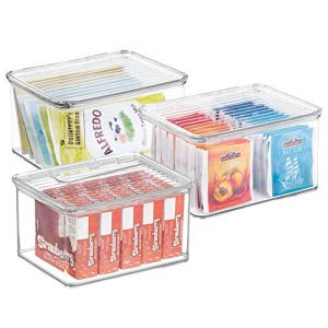 Aufbewahrungsbox für Backmittel, Aufbewahrungsbox Backzutaten