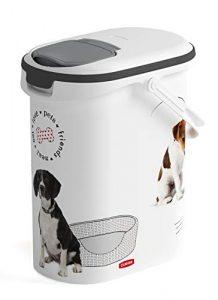 Trockenfutterbehälter für Hundefutter