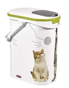 Trockenfutterbehälter für Katzenfutter