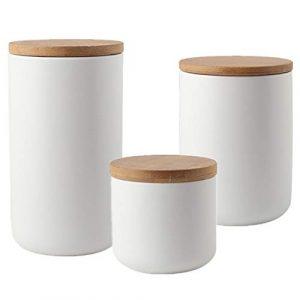 Vorratsdose Weiß, Aufbewahrungsdose weiß, weiße Frischhaltedose