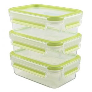 Vorratsdose grün, Aufbewahrungsdose grün, grüne Frischhaltedose